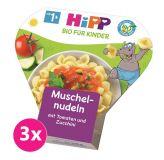 3 x HIPP dětské těstoviny BIO s rajčaty a cuketou (250 g)