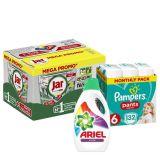 PAMPERS XXL Pack čistého bábätka Pants 6