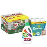 PAMPERS XXL Pack čistého bábätka Active 2