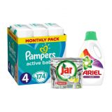 XXL Pack čistého miminka Active 4