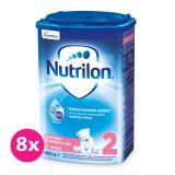 8 x NUTRILON 2 ProNutra Good Night (800g) - kojenecké mléko