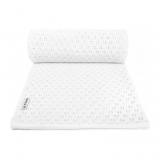 T-TOMI Pletená detská deka, letna, white