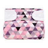 T-TOMI Ortopedické abdukčné nohavičky (5-9 kg) patentky - pink triangles