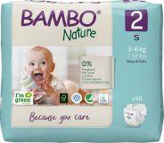 BAMBO Nature Pleny jednorázové 2, 30 ks, 3-6 kg