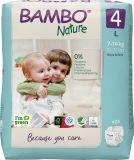 BAMBO Nature Pleny jednorázové 4, 24 ks, 7-14 kg