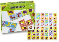 HM STUDIO Domino drevené chrobáčiky 28 ks