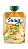 SUNAR BIO kapsička Jablko, banán, mrkva 100 g