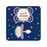 MAM Cumlík Perfect Night Little Dreamer, 0-6 mesiacov, silikón ružový - sweet dreams