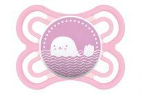 MAM Cumlík Perfect 0-6 mesiacov, silikón ružový, veľryba