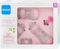 MAM Novorodenecký darčekový set malý ružový