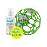 OBALL RATTLE Hračka 10 cm 0m+ seafoam + DÁREK Aquaint 50ml