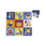 SMT CREATOYS Penové puzzle cirkus 9 ks 32x32x1 cm