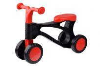 LENA Odrážadlo Rolocykl čierno-červený plast výška sedadla 26 cm 18 m-36 m