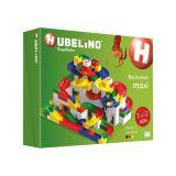HUBELINO Guličková dráha - set s kockami Maxi 213 ks