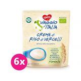 6 x HAMI Viaggio d´ Italia Nemléčná italská BIO kaše rýžová 200 g