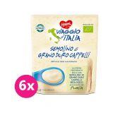 6 x HAMI Viaggio d'Italia BIO Detská nemliečna talianska krupičná kaša 200 g