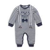 DIRKJE Set 1-dílný D-JUST BE COOL HI THERE 50 Navy + off white