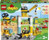 LEGO® DUPLO® Town 10933 Stavba s vežovým žeriavom