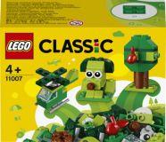 LEGO® Classic 11007 Zelené kreativní kostičky