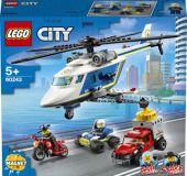 LEGO® City 60243 Prenasledovanie s policajnou helikoptérou