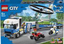 LEGO® City 60244 Preprava policajného vrtuľníka