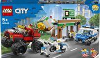 LEGO® City 60245 Lúpež s monster truckom