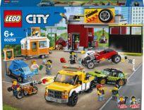 LEGO® City 60258 Tuningová dielňa