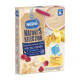 NESTLÉ Nature's Selection mléčná obilná kaše malina, banán, 250 g