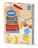 NESTLÉ Nature's Selection mléčná obilná kaše jahoda, banán 250 g