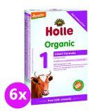 6 x HOLLE Bio Dětská mléčná výživa 1 počáteční
