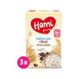 3x HAMI Kaše mléčná rýžová straciatella 225 g