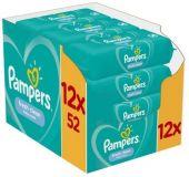 12 x PAMPERS Fresh Clean dětské vlhčené ubrousky