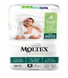 MOLTEX Pure & Nature natahovací plenkové kalhotky Maxi 7-12 kg (22 ks)