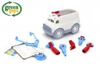GREEN TOYS Ambulancia s lekárskymi nástrojmi