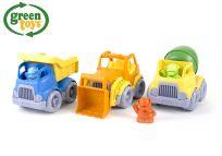 GREEN TOYS Stavebné stroje set