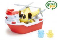 GREEN TOYS Záchranný čln a vrtuľník
