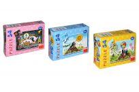 DINO Minipuzzle soubor Krteček 54 dílků