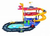 BBURAGO Parking Playset garáž