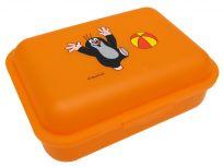 WIKY Svačinový box 1l krtek+míč oranžový