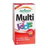 JAMIESON Multi Kids multivitamín tablety na cmúľanie pre deti 60 tbl.