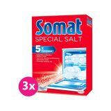 3x SOMAT Sůl do myčky 1,5 kg