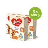 HAMI 3 x Dětské mléko 600 g 36+