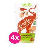 4 x NURTURE Oatie ovsený nápoj čokoláda 200 ml