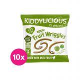 10 x KIDDYLICIOUS Žížalky jablečné