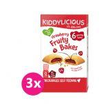 3x KIDDYLICIOUS Koláčky jahodové