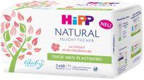 HIPP Babysanft Čistící vlhčené ubrousky Natural 2x60 ks