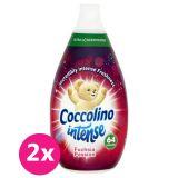 2x COCCOLINO Intense Fuchsia Passion super koncentrovaný avivážny prípravok 64 praní 960 ml