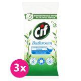 3x CIF Nature čistící ubrousky Koupelna 36 ks