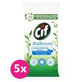 5x CIF Nature čistící ubrousky Koupelna 36 ks