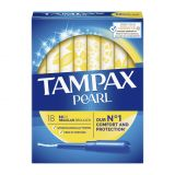 TAMPAX Pearl Regular tampóny s aplikátorom 18 ks